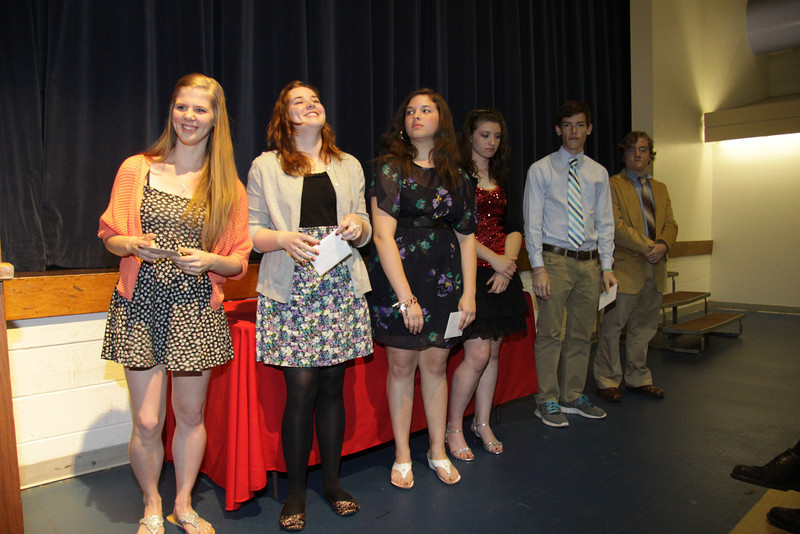 Awards Night 2012: Students of the Year: Business Department