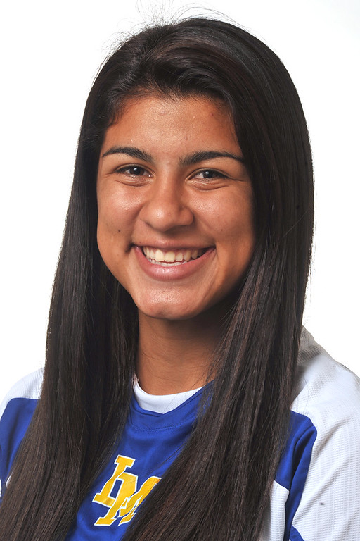 . Ileen Mejia from La Mirada High School was selected to the Whittier Daily News All-Area Girls Soccer team on Wednesday March 27, 2013. (SGVN/Staff Photo by Keith Durflinger)