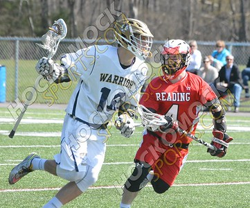Foxboro - Reading Boys Lacrosse 4-18-16