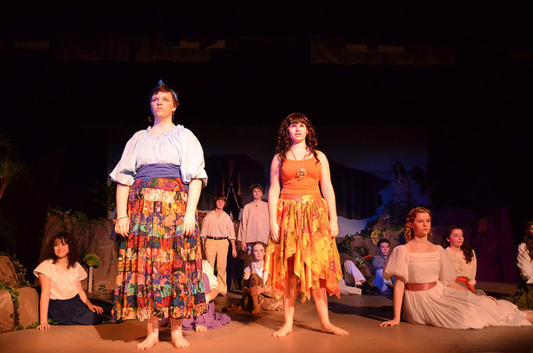 Once On This Island - 1/27/12 Performance
