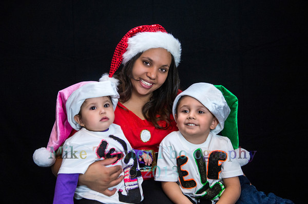 Brenda, Anthony, and Alandra Christmas 2013