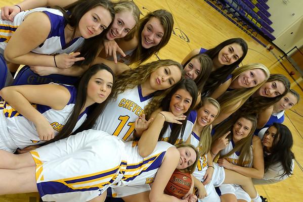 2014-2015 Basketball team and individual