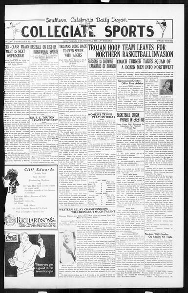 Daily Trojan, Vol. 16, No. 54, February 23, 1925