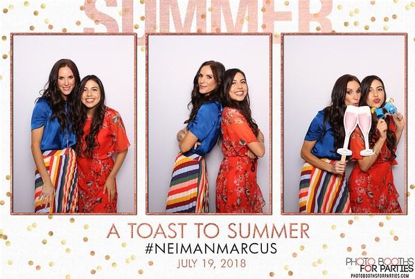 Neiman Marcus A Toast to Summer 2018
