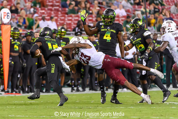 2019-11-07 - University of Temple Owls v. University of South Florida Bulls