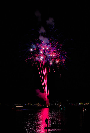 Lake George fireworks July 20, 2017
