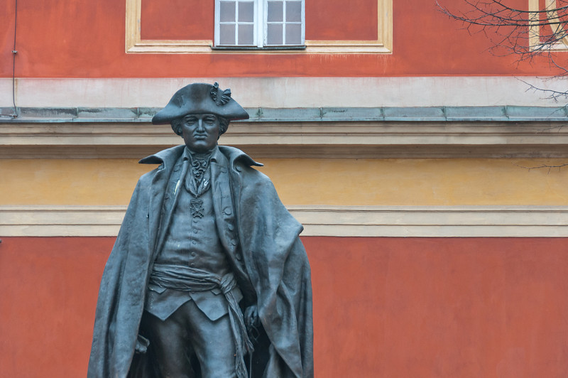 General von Steuben Statue in Potsdam, Germany