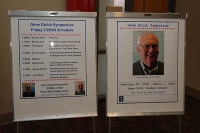Gene Golub Symposium