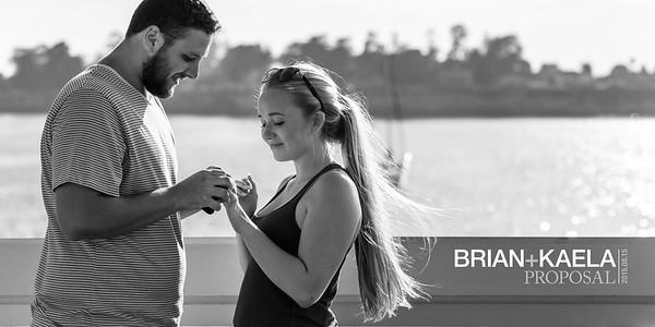 Brian and Kaela (Proposal Photography) @ Santa Cruz Wharf