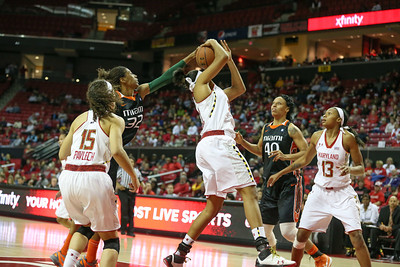 Terp Women vs Miami - 1/10/13