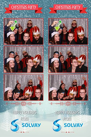 Solvay Christmas Party 2018