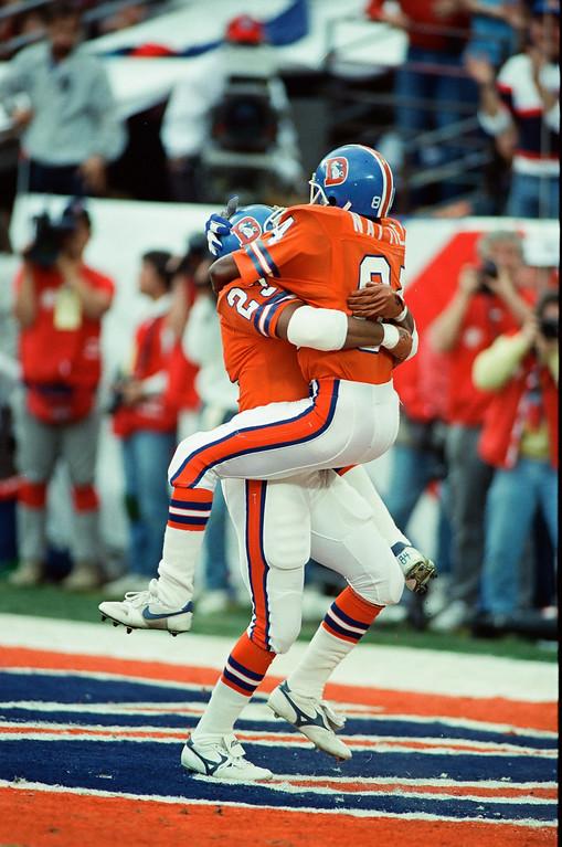 . Super Bowl XXII - Denver Broncos vs Washington Redskins on January 31, 1988. The Redskins defeated the Broncos, 42-10. (Denver Post file photo)