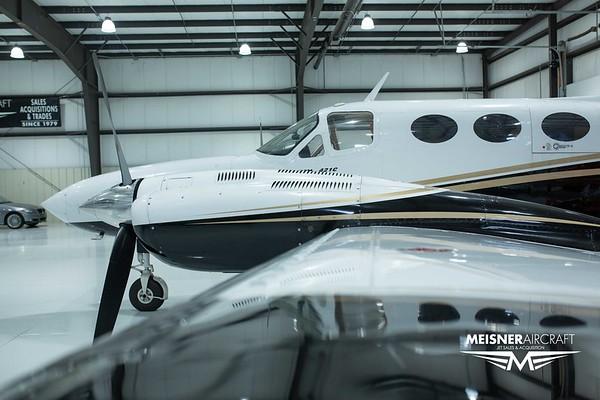 Cessna 421 C N421LQ (Low Res w/Logo)
