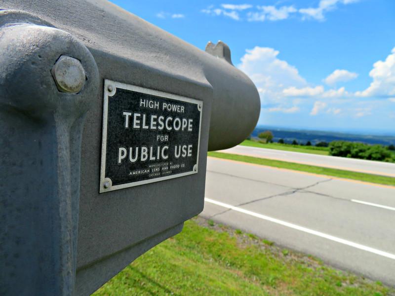 Telescope at the Tepee Cherry Valley, NY