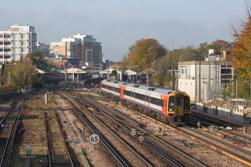 159 101 leaving Basingstoke.