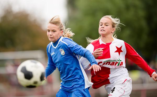 U15 dívky: Slavia - Plzeň 1:0