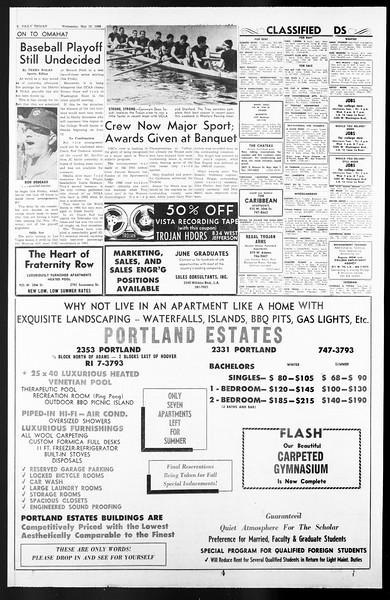 Daily Trojan, Vol. 57, No. 122, May 18, 1966