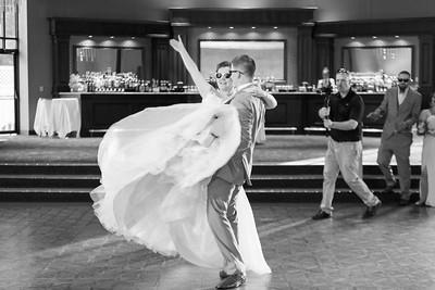 Reception Bride Groom First Dance- Danielle & Andy Bruno Wedding Photography- Holy Trinity Westfield, MA/ Chez Josef Agawam, Mass.