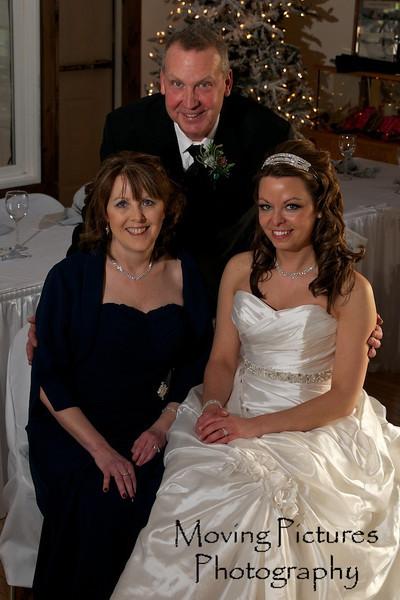 Erin & Evan Wedding - Erin with her parents
