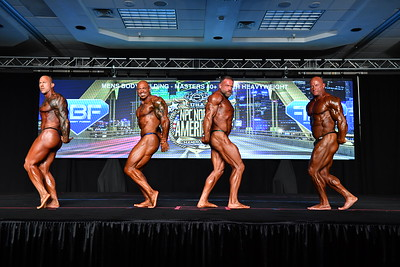 Men's Bodybuilding Masters 40+ SHW