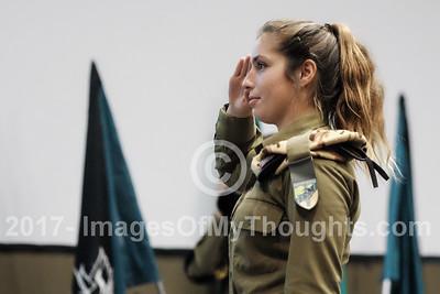 20171205 IDF Female Tank Crews Graduation