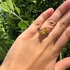 3.00ct Yellow Orange Sapphire Solitaire 43