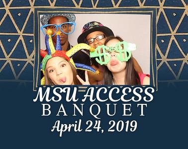 MSU Access Banquet 2019