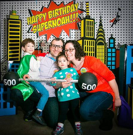 noah's 4 Year Birthday Party Supercity Photobooth