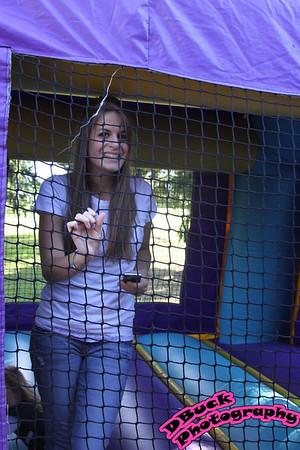 9-19-09 Goofy Girls in Bouncy House