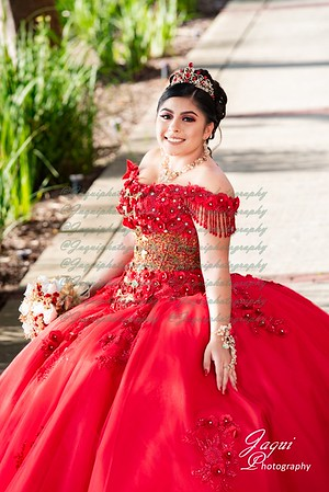 Red Charro Dress
