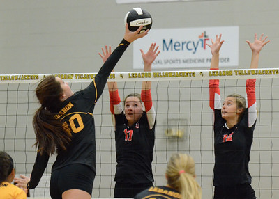 Volleyball - LHS 2016 - Carl Junction