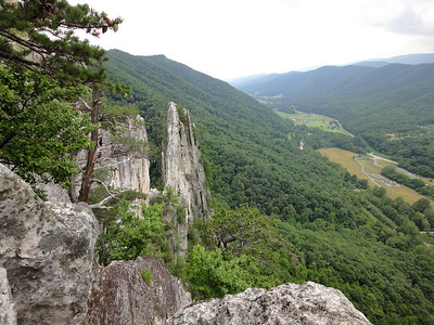 Seneca Rocks - 6-25-11