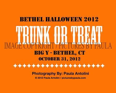 """BETHEL HALLOWEEN """"TRICK OR TRUNK"""" - Big Y - Bethel CT ~ October 31, 2012"""