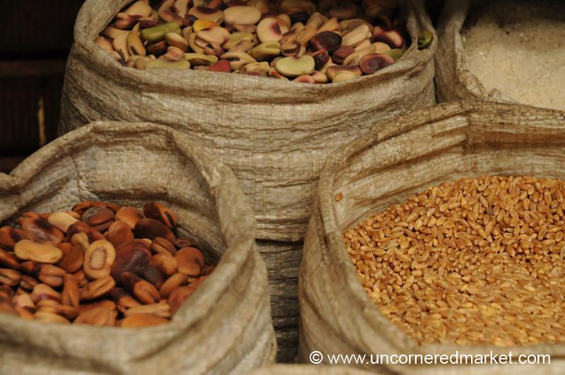 Dried beans and Grains - Chachapoyas, Peru