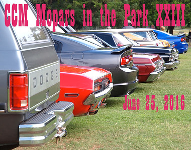 CCM Mopars in the Park XXIII