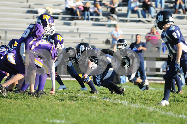 Fighting Panthers vs Warwick - Football - 10-10-10