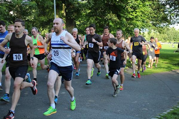 Sri Chinmoy 2 mile, Wed 13 July 2016, Edinburgh