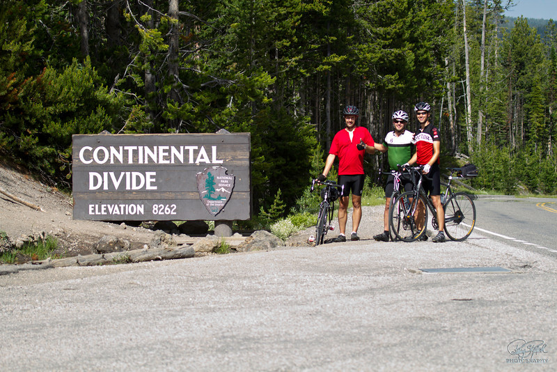 Thumbs Up at the Divide