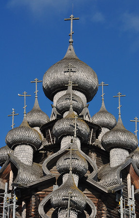 Church of the Transfiguration on Kizhi Island - Russia 2011
