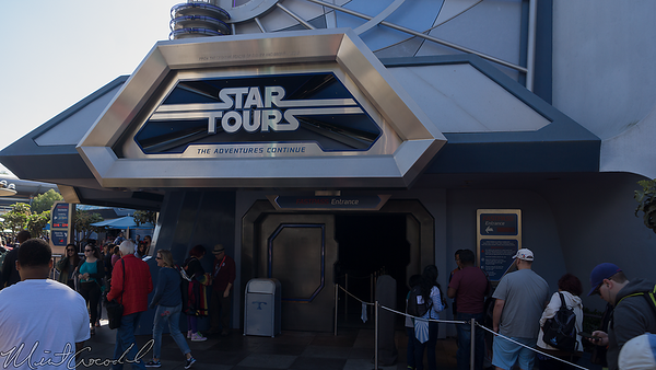 Disneyland Resort, Disneyland, Tomorrowland, Star Tours