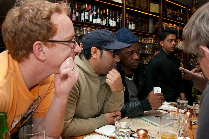 04/03/2012 - Hanging out with David Banner and Corey Smyth (not pictured) at Red Rooster