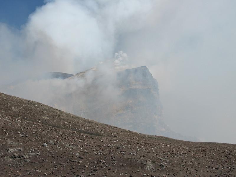 Mt Etna venting