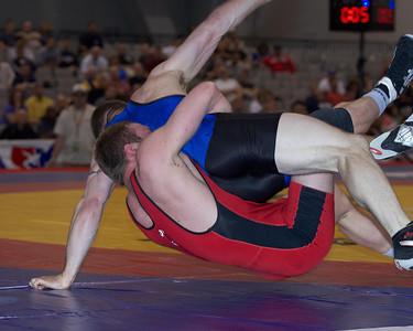 Greco-Roman Championships 84 Kg: Brad Ahearn (Army) def  Brad Vering (New York Athletic Cl) Dec 2-1,1-1