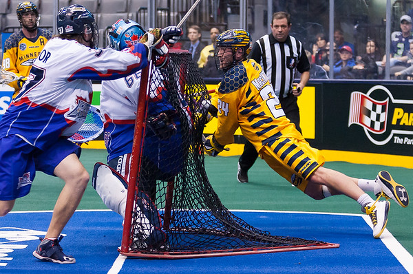 Minnesota Swarm @ Toronto Rock 22 February 2014