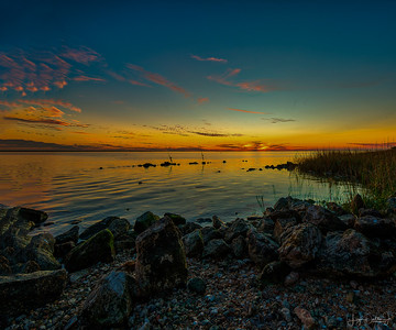 Anahuac NW Refuge  & Frozen Point Sunsets