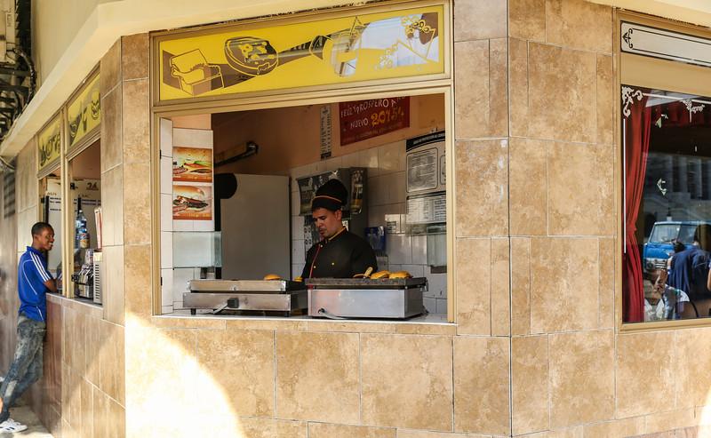 Havana Hamburger Stand