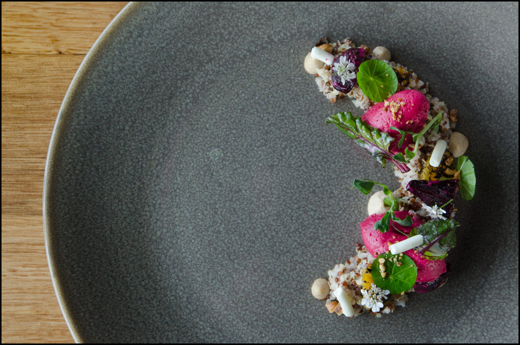 Quinoa and beetroot at Pearl + Co.
