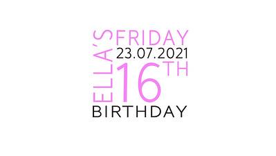 23.07 Ella's 16th