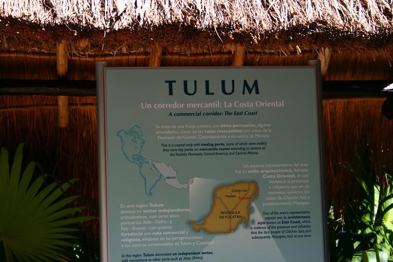 WCaribb Cruise - The Mayan ruins of Tulum.