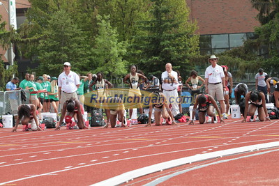 100M Women Prelims - 2015 Big Ten Outdoor T&F Championships